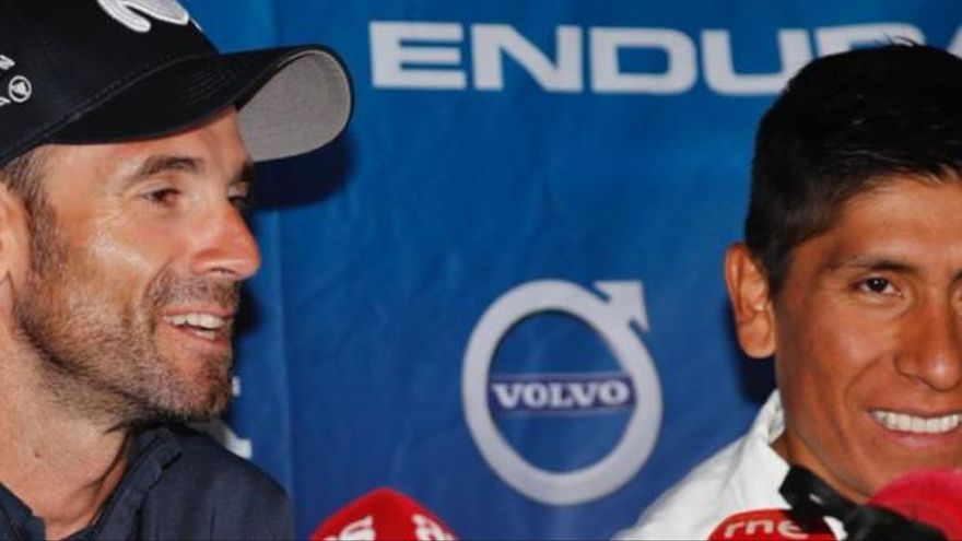 """Alejandro Valverde: """"No creo que haya lucha entre Nairo Quintana y yo"""""""