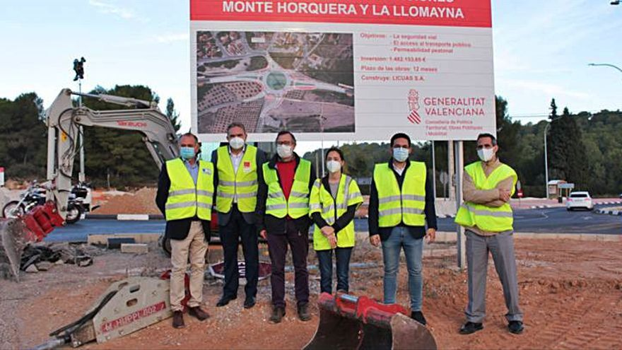 Una rotonda facilitará el acceso a dos urbanizaciones de Vilamarxant
