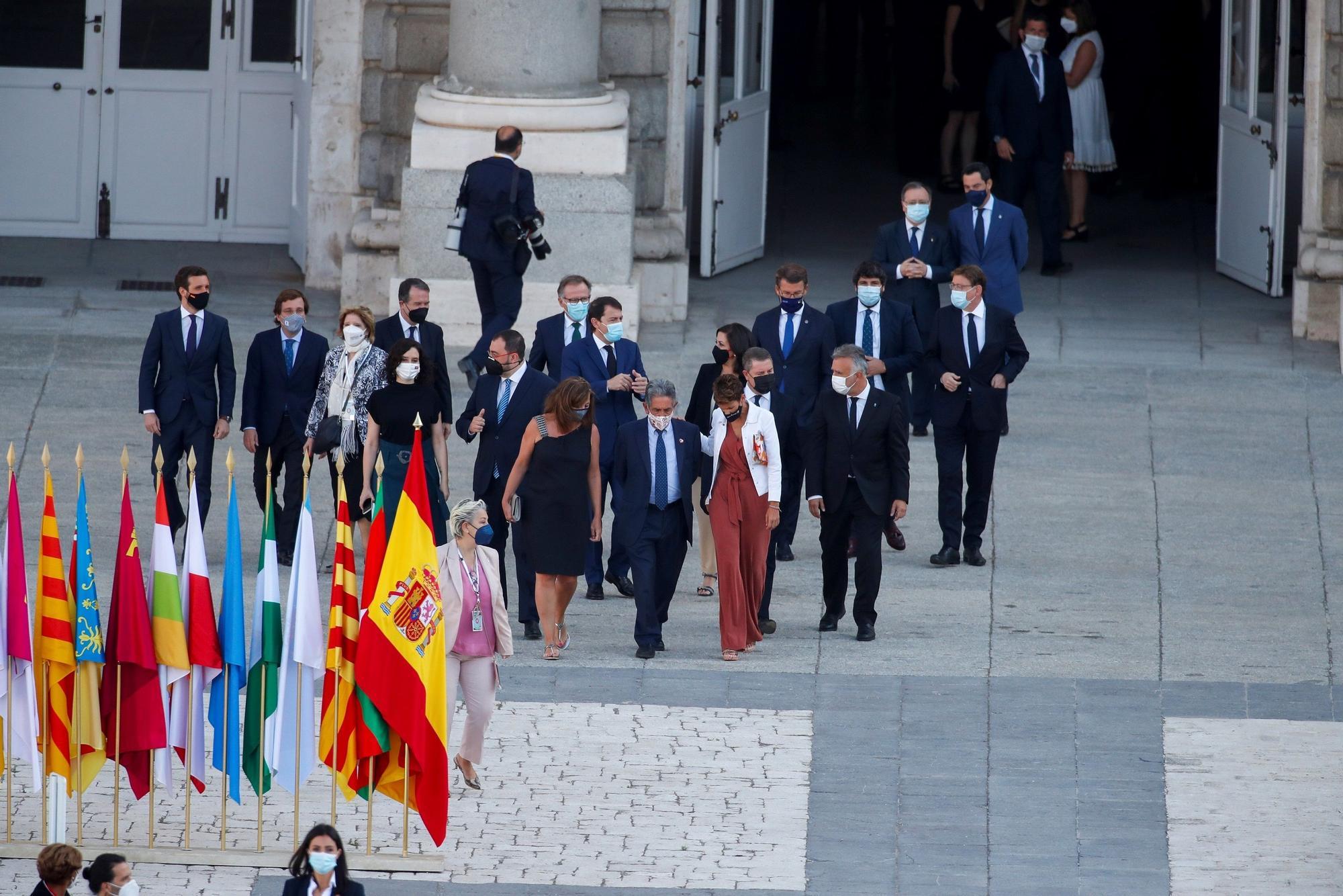 GALERÍA   Castilla y León, en el homenaje a las víctimas del COVID en España