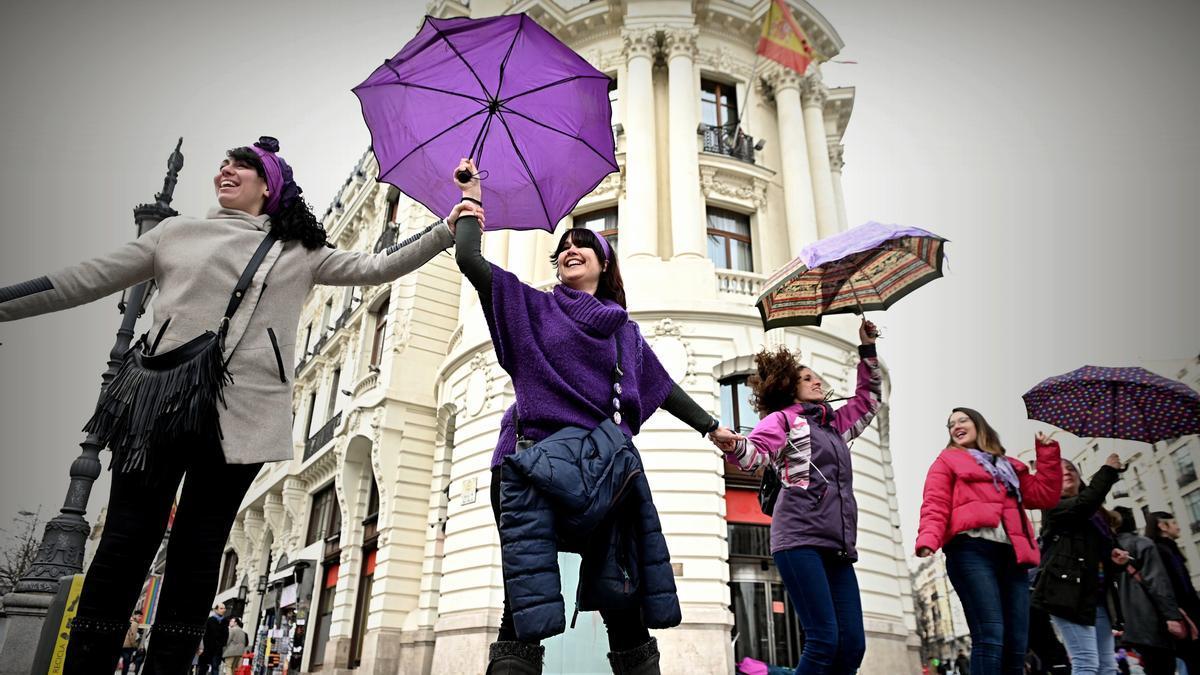 Imagen de una de las manifestaciones del año pasado en Madrid.