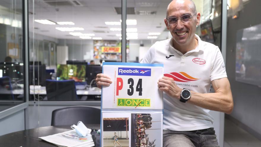 """Luis Félix Martínez: """"Quiero llegar a las 2.000 carreras"""""""