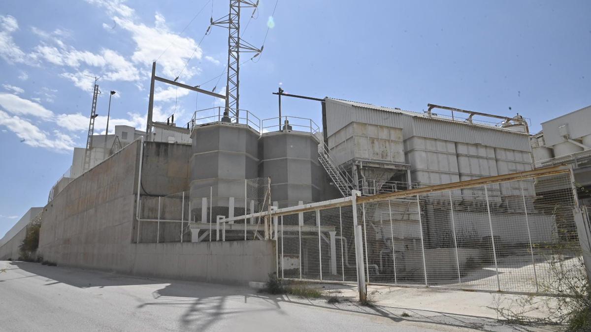 Imagen de la fábrica en la que ha tenido lugar el trágico suceso.