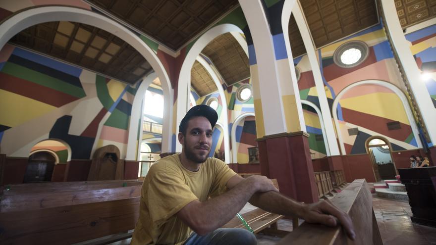 L'artista bagenc Berni Puig estrena dimecres a Lleida  l'itinerari artístic El preu de la fruita