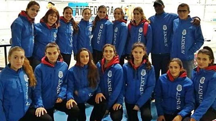 Les noies de l'Avinent són setenes a l'estatal de clubs sub-20 d'Antequera