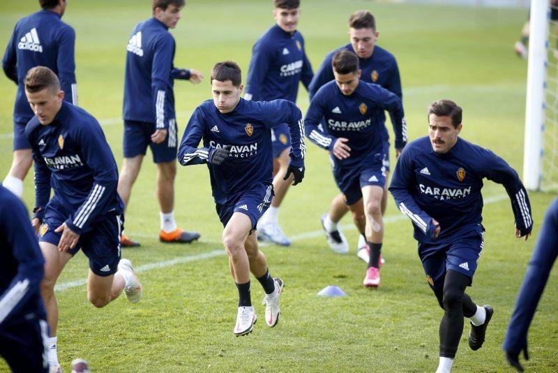 Entrenamiento del Real Zaragoza, 24 de noviembre