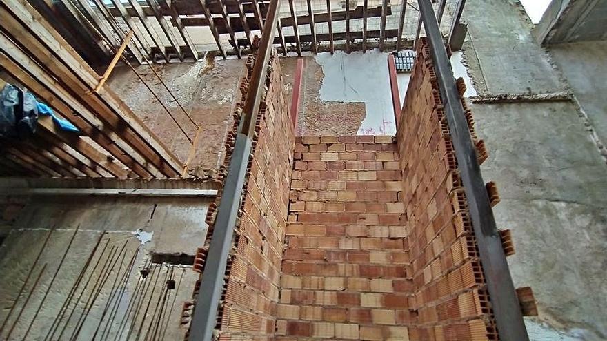 La restauración del teatro Defensora de Sóller se encuentra paralizada