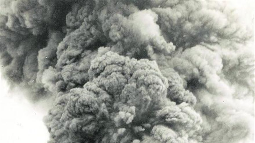 Romance del volcán al salir de misa