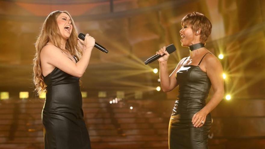 Cristina Ramos brilla como Mariah Carey en la vuelta de 'Tu Cara Me Suena'
