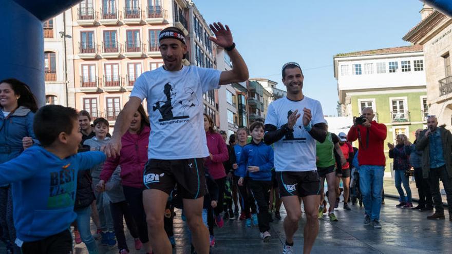 Tres setabenses en el equipo de 1000km contra la leucemia