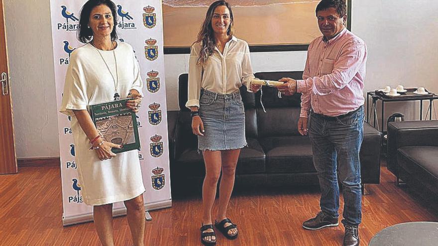 La deportista Julia Castro, elegida nueva embajadora turística de Pájara por el mundo