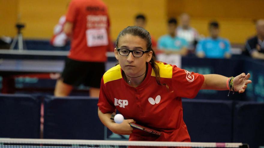 Luisa Pintos, tercera en los Trials
