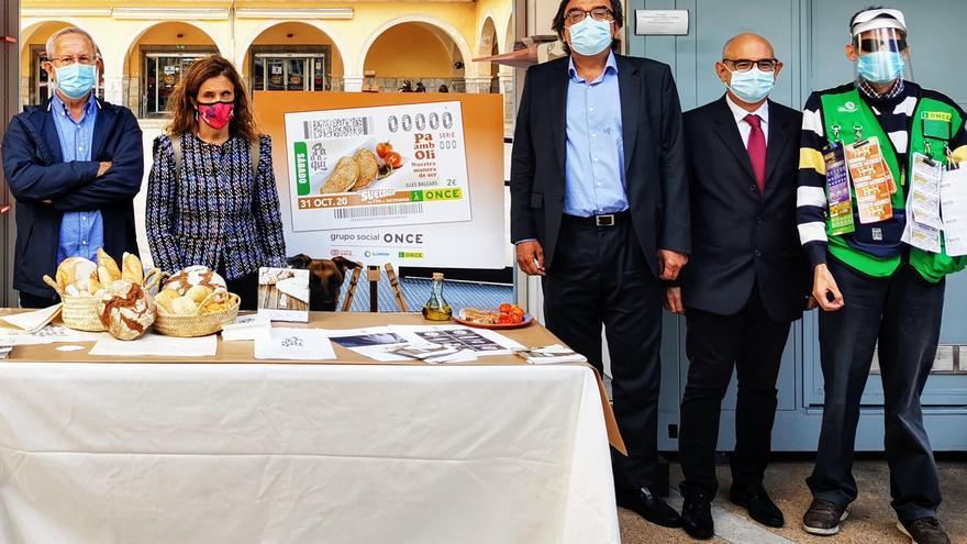 El 'Pa amb oli' protagonizará el cupón de la ONCE del 31 de octubre