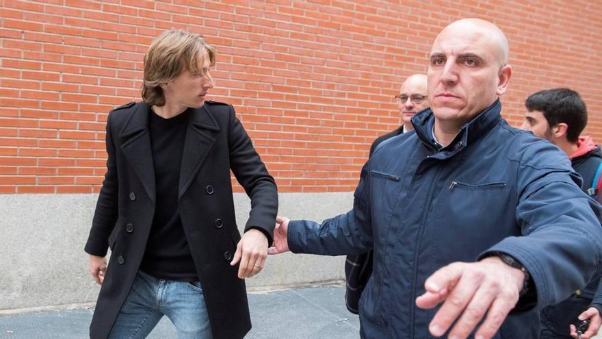 Hacienda exige 1,2 millones de euros más a Modric