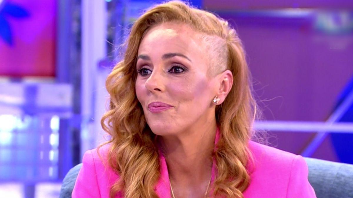 Rocío Carrasco en 'Sálvame'.