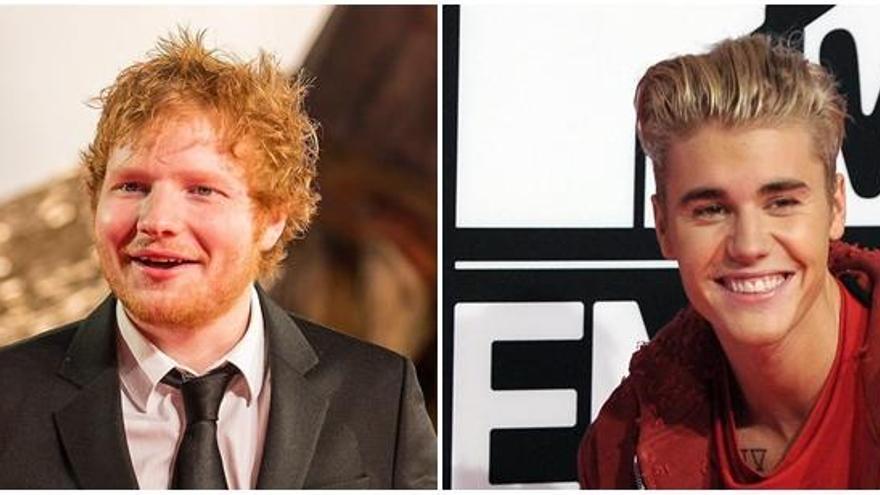 Ed Sheeran y Justin Bieber vuelven a colaborar juntos