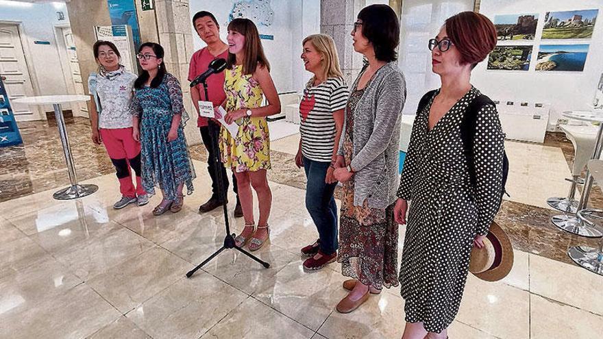 Artistas chineses plasman a sua visión da peregrinación