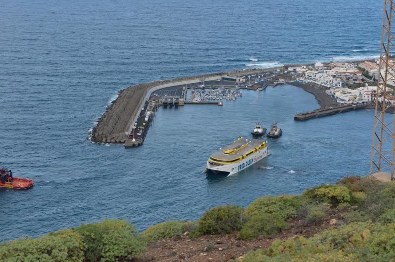 Tercer día de las operaciones de rescate del ferry