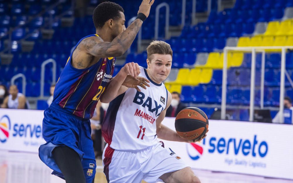 Barça - Baxi, en imatges