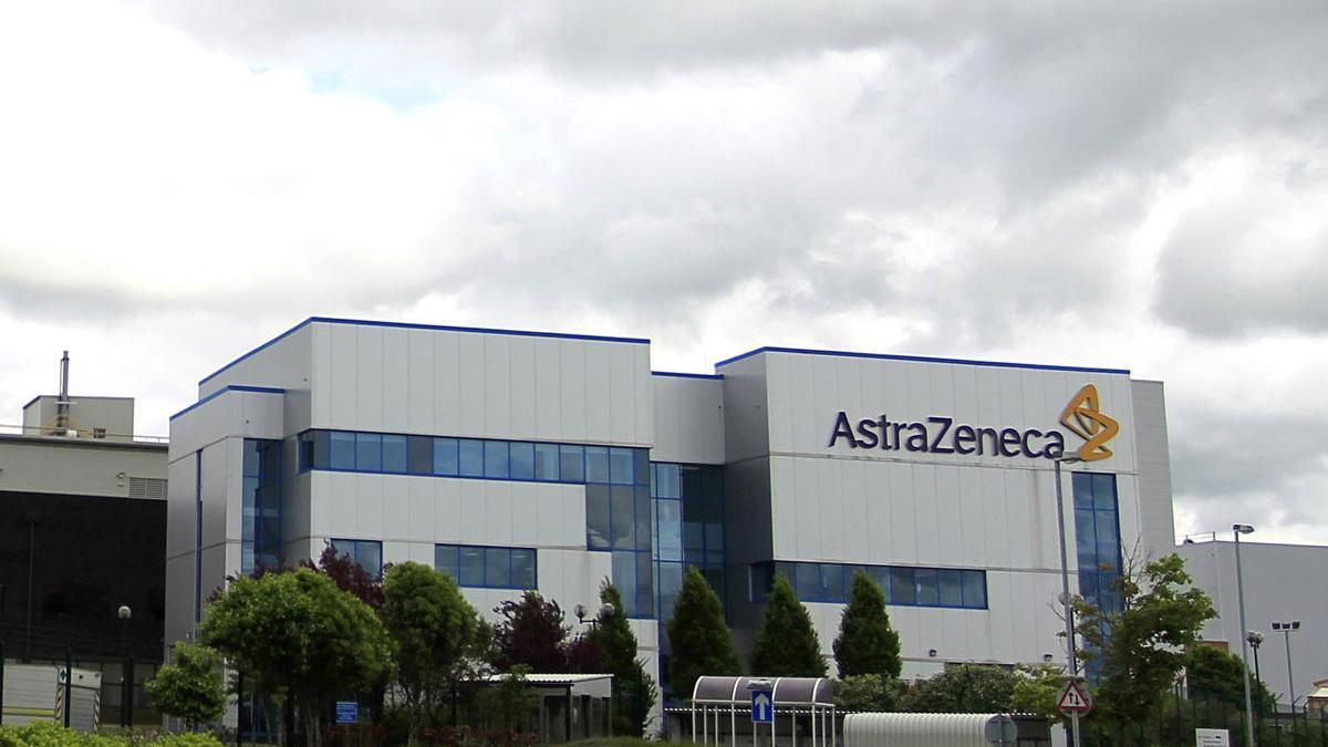 Instalaciones de Astrazeneca en Macclesfield (Reino Unido).