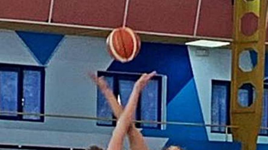 Victoría del Gijón Basket en León
