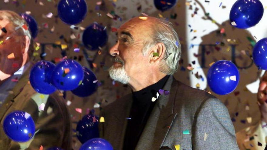 Muere a los 90 años el actor escocés Sean Connery