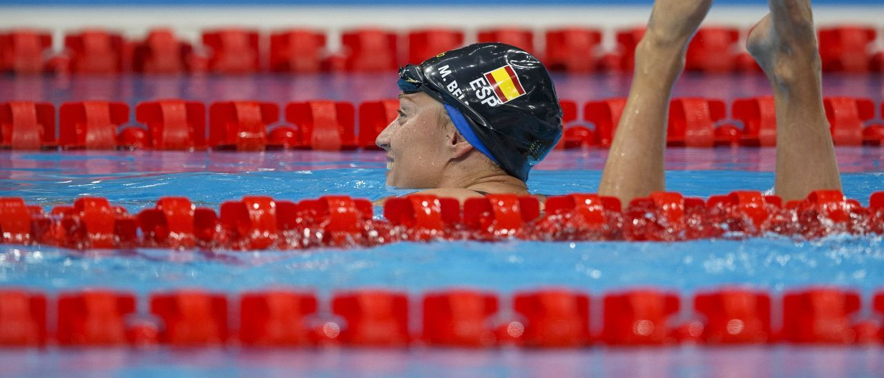Mireia Belmonte se queda a las puertas del podio en los 400 estilos