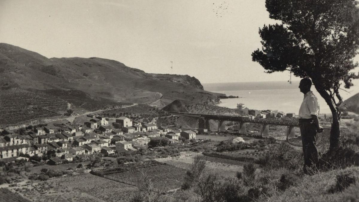 Imatge amb què l'Arxiu Comarcal acompanya l'efemèride de Colera.