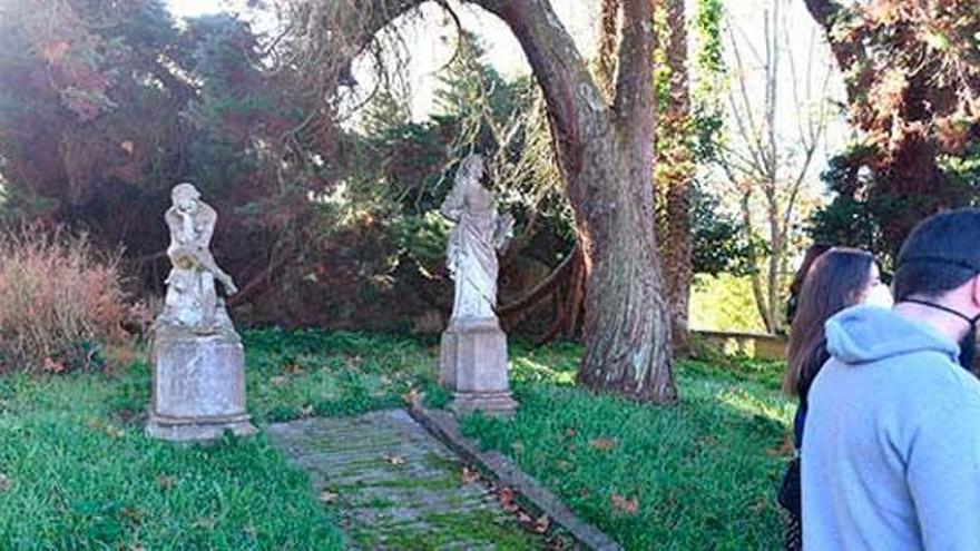 La Xunta ayudará a recuperar el jardín de Casa Arrigada, ya inaugurada como OMIX