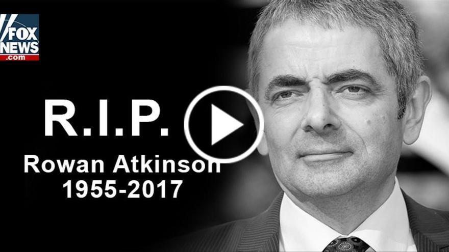 """""""Matan"""" a Mr. Bean para propagar una estafa online"""