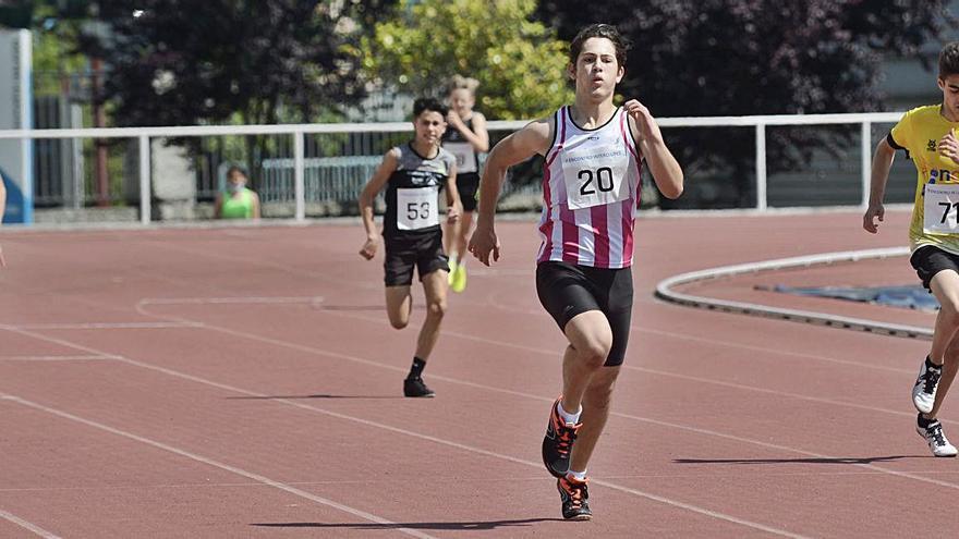 El II Encontro Interclubes reúne a alrededor de 300 atletas