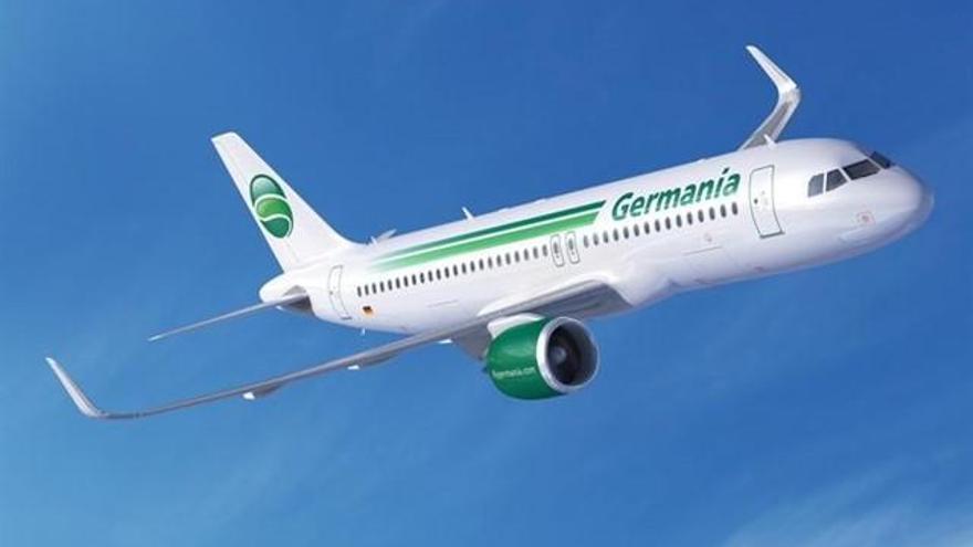 Germania cancela vuelos en Palma por su quiebra