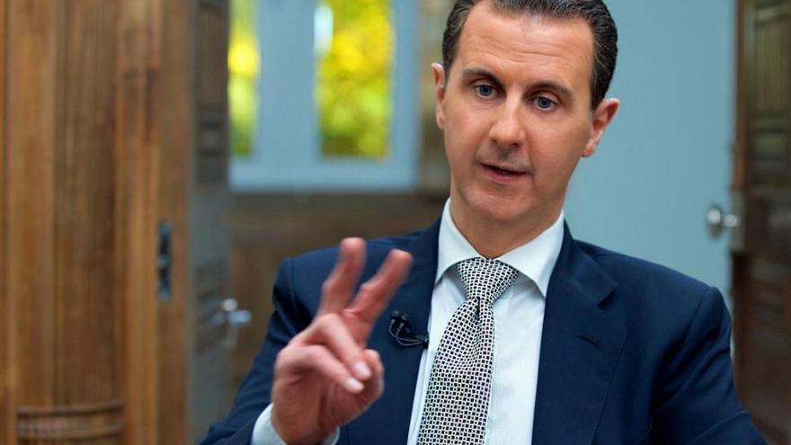 """Asad asegura que el ataque con armas químicas es """"un montaje"""""""