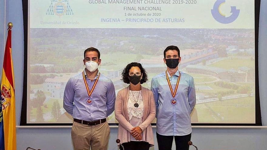 Dos alumnos de la Politécnica, premiados en un concurso empresarial