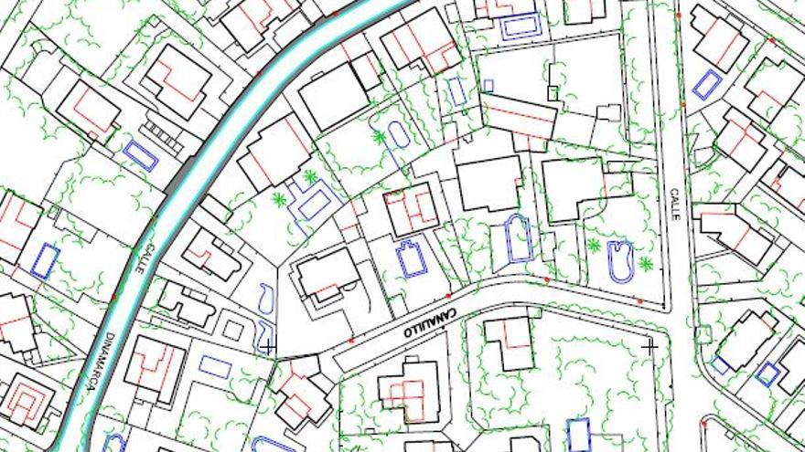Urbanismo eliminará el cableado aéreo la calle Dinamarca