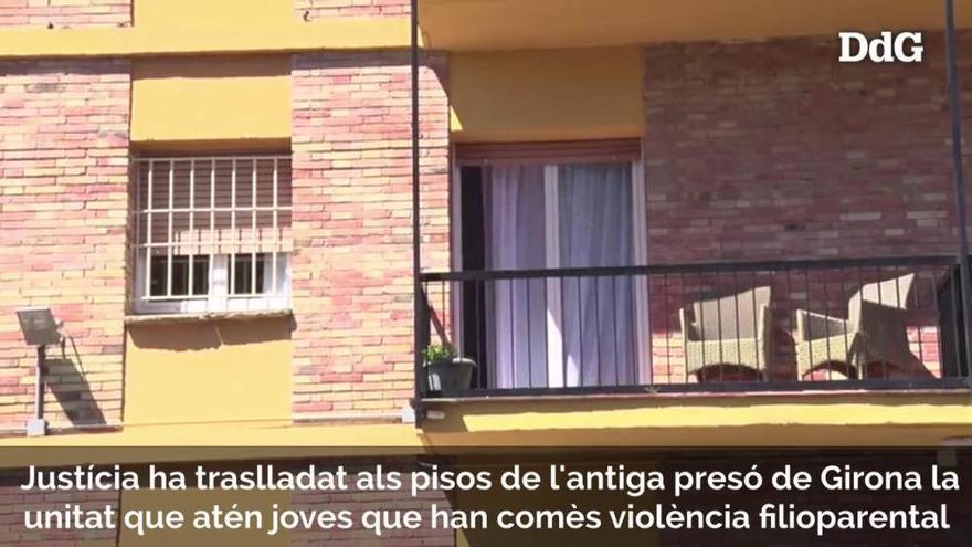 Justícia trasllada als pisos de l'antiga presó de Girona la unitat que atén joves que han comès violència filioparental