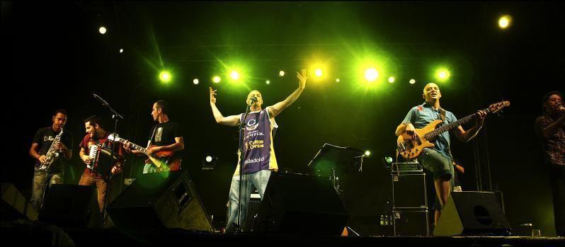 El cantante y líder del grupo Celtas Cortos, que actúa este viernes en Teror,