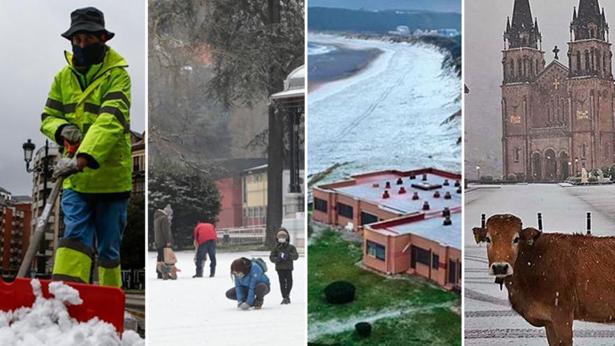 "La borrasca ""Filomena"" llega a Asturias"