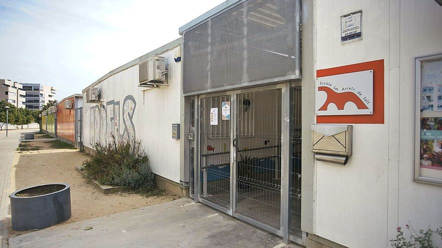 El 21,5% de les escoles públiques gironines encara tenen barracons
