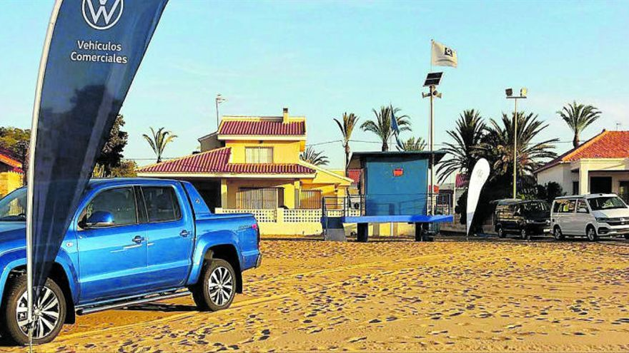Huertas Motor Vehículos Comerciales colabora con la Liga Nacional de Surf 'Junior Series'