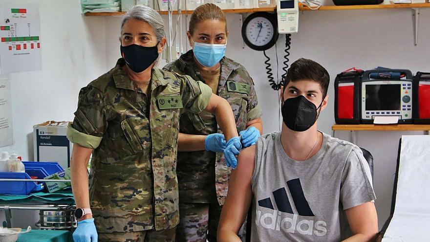 Los rastreadores militares de Canarias gestionan más de 19.000 positivos