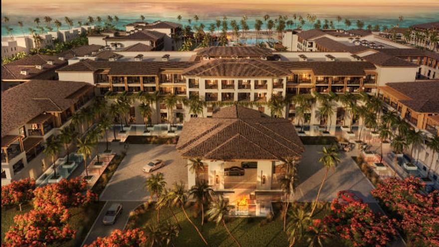 El nuevo hotel de Lopesan en Playa Bávaro ultima detalles