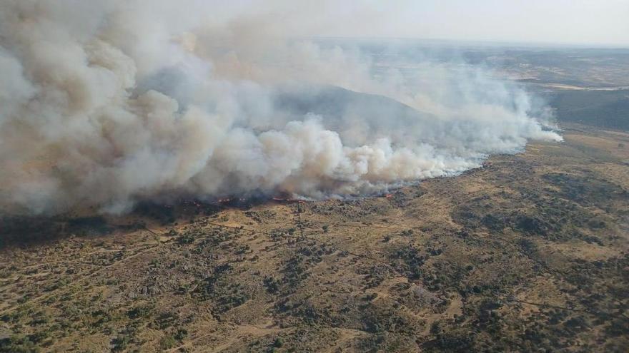 Incendio en Alburquerque