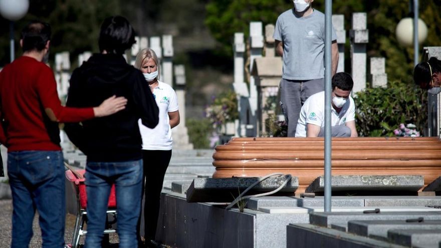 España se convierte en el tercer país de Europa con más muertes por la COVID-19