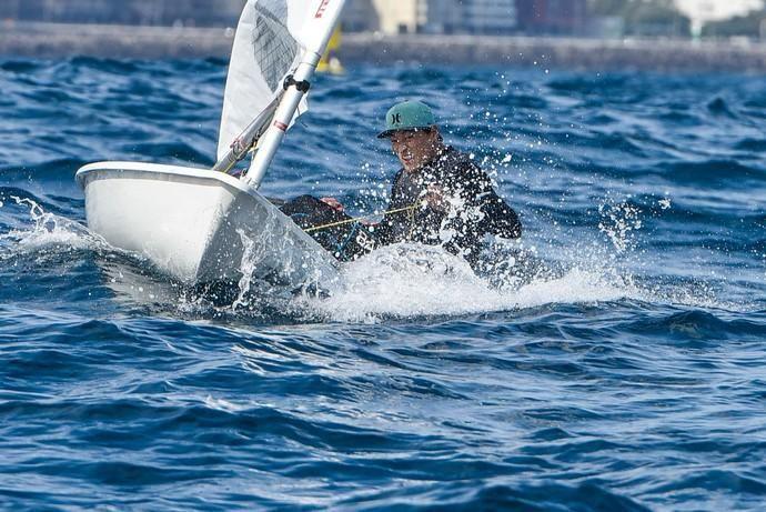 Tercera jornada de la XIX Semana Olímpica Canaria de Vela