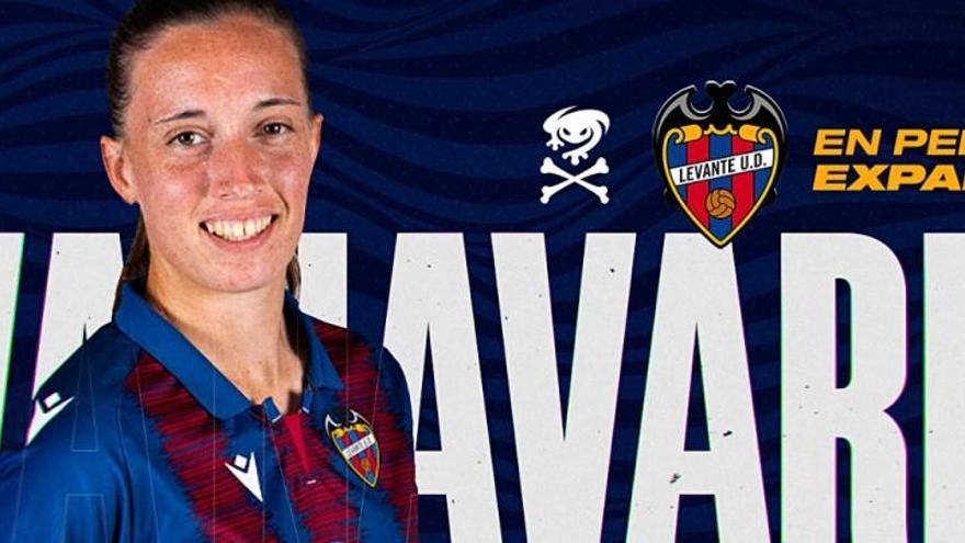 Eva Navarro se cansa de esperar y renueva por el Levante