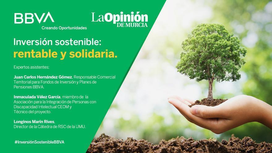 Inversión sostenible: rentable y solidaria con BBVA