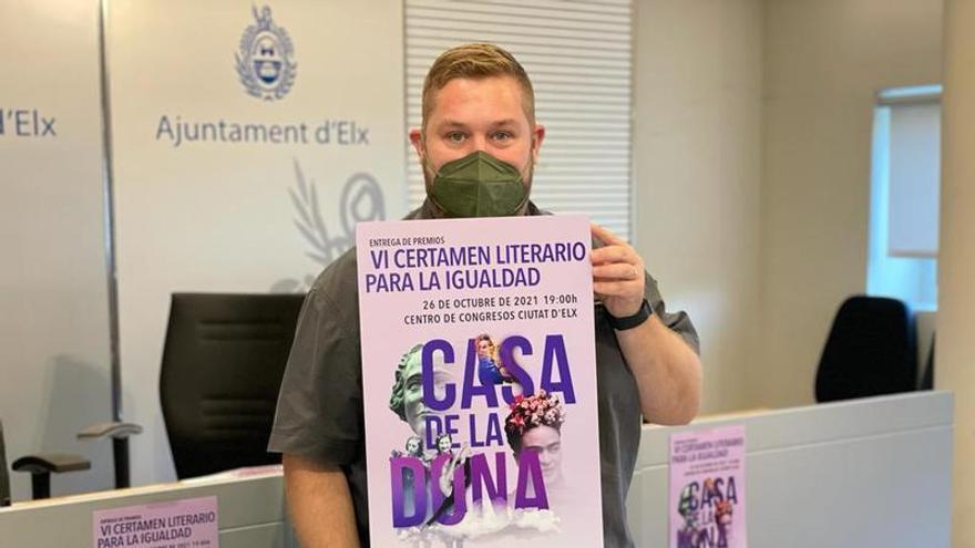 """El VI Certamen Literario para la Igualdad """"Casa de la Dona"""" bate récord de participación en Elche"""