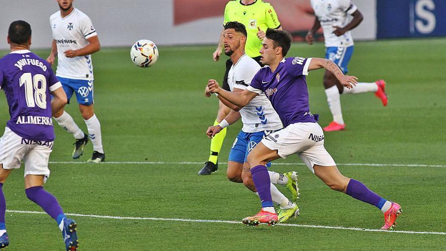 El análisis del Tenerife 1-0 Sporting: Los rojiblancos atraviesan su peor bache antes de recibir al Oviedo