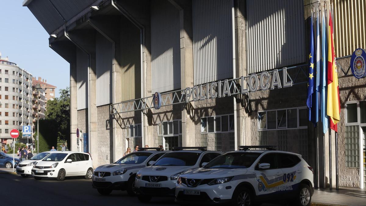 Jefatura de la Policía Local de Avilés.