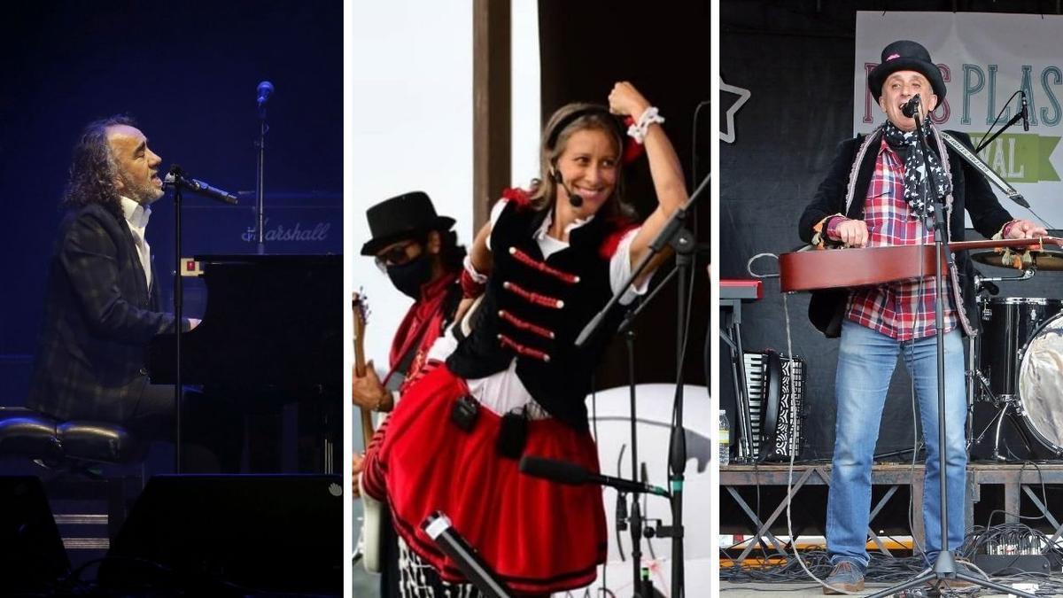 Viernes, sábado y domingo hay programados varios conciertos en Alcabre.